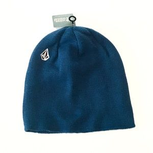 Volcom Beanie Hat -Blue - NEW